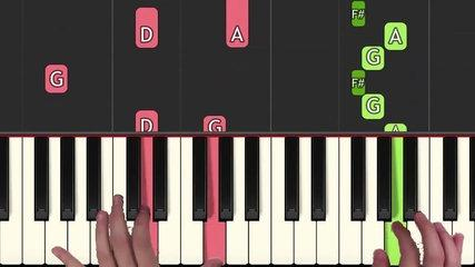 How to play 'VIVI`S THEME' from Final Fantasy IXwe  (Synthesia) [Piano Video Tutorial] [H
