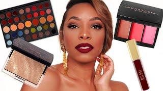 MY FIRST TUTORIAL OF 2019! | CLASSIC FULL GLAM MAKEUP | SOFT WEARABLE MATTE CUT CREASE & VAMPY LIP