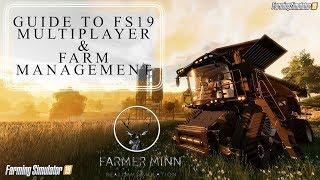 FARM MANAGEMENT | Farming Simulator 17 PS4 | FS19 Tutorial