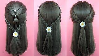 Cute Little Girl's Hairstyle Tutorials - Easy Hairstyles For Medium Hair | Part 6