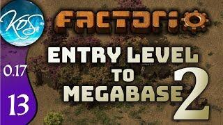 Factorio 0.17 Ep 13: STARTING OIL - Entry Level to Megabase 2 - Tutorial Let's Play, Gameplay