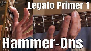 Legato Primer 1: Hammer-Ons | Technique Guitar Lesson Tutorial