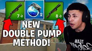 using the NEW DOUBLE PUMP Method in Season 5! - Double Pump TUTORIAL (NOT PATCHED)