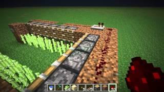 Dansk Minecraft [Tutorial] Sugar Cane Farm - RoFLCrafters 1.4.2