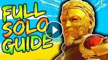 FULL IX SOLO EASTER EGG GUIDE!! // ALL STEPS & BOSS FIGHT