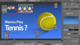 Blender 3D Tutoriel Français - Tennis Ball - By KOPILOT