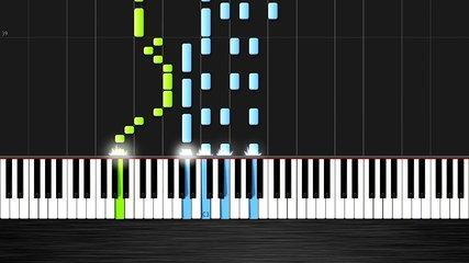 OMFG - Hello - Piano Cover/Tutorial by PlutaX - Synthesia