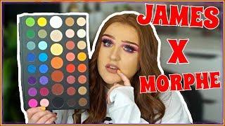 MORPHE X JAMES CHARLES PALETTE TUTORIAL/REVIEW (+ BRUSH SET)
