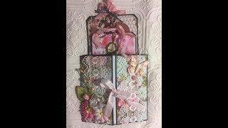 Misty Rose Gatefold Tag Folio Tutorial