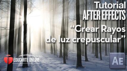 Crear Rayos De Luz - Tutorial After Effects