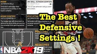 NBA 2K19 Defensive Settings Tutorial : How to Play Defense 2K19 How to use Defensive Settings #8
