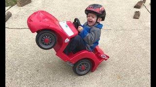 FUNNY KIDS Power Wheels DRIFTING Videos [NEW]