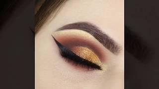 Soft Everyday Eye Makeup Tutorial | EASY Copper Glitter Smokey Eye Makeup Tutorial #2