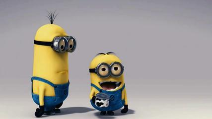 Minions Funny Video! Cow Ringing