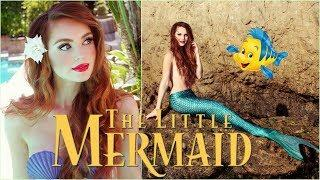 Ariel 'The Little Mermaid' Makeup  & Hair Transformation | Disney Princess Tutorial