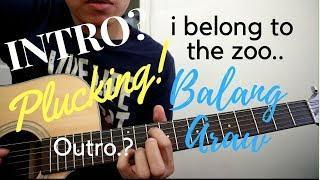 Balang Araw Guitar Tutorial (CHORDS & PLUCKING) - I belong to the Zoo