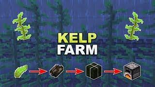 Minecraft - Kelp Farm // Seetang Farm - Tutorial 1.13