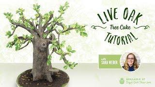 Live Oak Tree Cake Tutorial PROMO