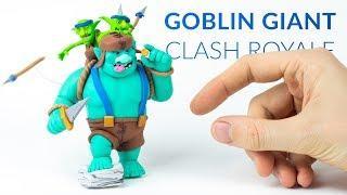 Goblin Giant (Clash Royale) – Polymer Clay Tutorial