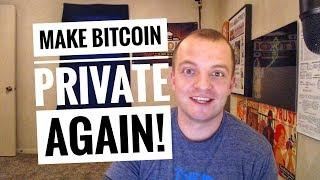 Make Bitcoin Private Again with Wasabi Wallet - A quick tutorial!