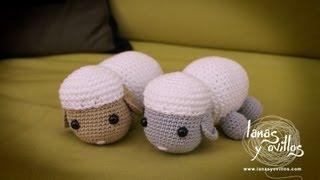 Tutorial Oveja Amigurumi Sheep (English Subtitles)