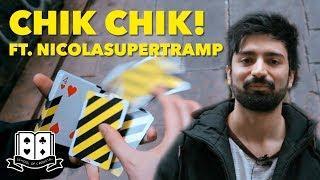 Cardistry for Beginners: Card Twirls - Chik Chik Tutorial ft. Nicolasupertramp