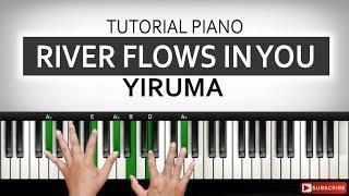 Tutorial River Flows in You - YIRUMA | Belajar Piano Keyboard