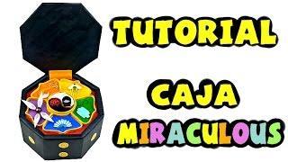 Cómo hacer la caja de los Miraculous - Tutorial Miraculous Ladybug