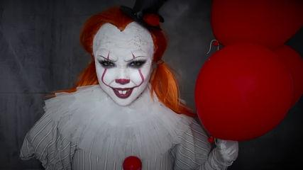 IT 'PENNYWISE' Makeup Tutorial