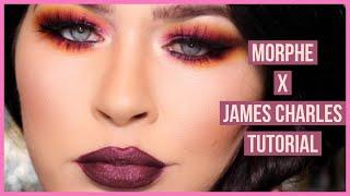 JAMES CHARLES X MORPHE PALETTE BRUTALLY HONEST REVIEW + TUTORIAL