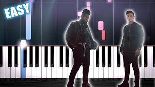 Martin Garrix feat. Khalid - Ocean - EASY Piano Tutorial by PlutaX