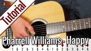Pharrell Williams - Happy   Gitarren Tutorial Deutsch