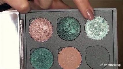 Blue glitter eyeshadow l Tutorial