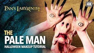 The Pale Man Halloween Makeup Tutorial
