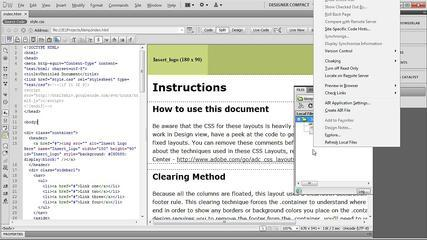 Tutorial: Web Development With Sass And Dreamweaver