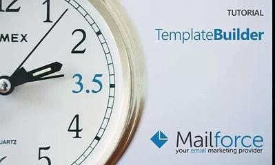 Mailforce Template Builder [tutorial]