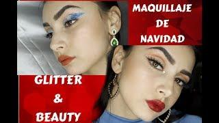 tutorial de maquillaje de navidad 2x1