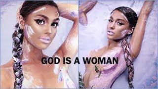 Ariana Grande GOD IS A WOMAN Makeup Tutorial