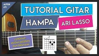 Tutorial Gitar ( HAMPA - ARI LASSO ) VERSI ASLI