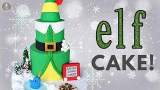 Buddy The Elf Cake Tutorial! | Christmas Cakes