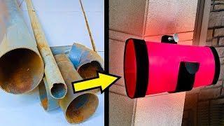 Tutorial membuat Lampu hias rumah menggunakan PIPA PVC