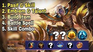 New Hero [KHUFRA] Skill, Emblem, Build, Combo Full Tutorial Menuju PRO - Mobile Legend Bang Bang