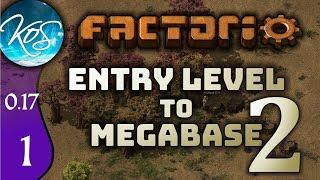 Factorio 0.17 Ep 1: SHINY NEW VERSION - Entry Level to Megabase 2 - Tutorial Let's Play, Gameplay