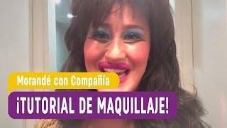 ¡Lady Devonette y su tutorial de maquillaje! - Morandé con Compañía 2017