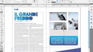 Corso InDesign CS5 - Le Novità CS5: Lo Strumento Spazio (tutorial) Italiano HD