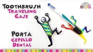 Toothbrush Holder Polymer Clay Tutorial / Porta Cepillo Dental De Arcilla Polimérica