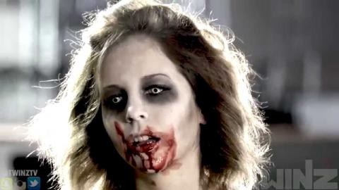 Zombie Girl Prank