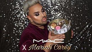 Mariah Carey x MAC | Unboxing, Review, Swatches, & Tutorial | Angel Merino | @mac_daddyy