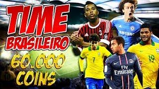 Fifa 14 Ultimate Team - Time Brasileiro Incrível - 60.000 Coins