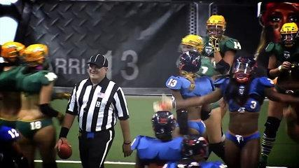 LFL (Lingerie Football) Big Hits, Fights, and Funny Moments